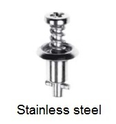 26S51-* - Cross recess pan head stud - stainless steel