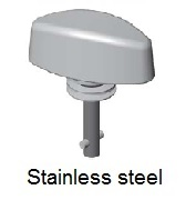 50E83-*CP - Wing head stud - stainless steel