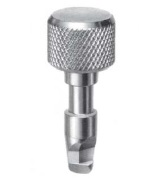 717S01-*-2AGV - Knurled head stud- steel/zinc plated