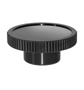 248 Series - Dimcogray recessed top knurled knob