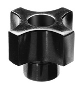 292 Series - Dimcogray 4-prong thru hole knob