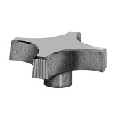 430 Series - Dimcogray 4-prong pronged knob