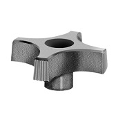 431 Series - Dimcogray 4-prong thru hole knob