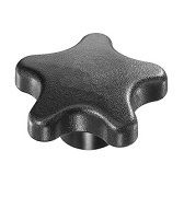 490 Series - Dimcogray 5-star lobed knob