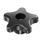 491 Series - Dimcogray 5-star lobed knob