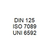 DIN 125 / ISO 7089 / UNI 6592 - Washer