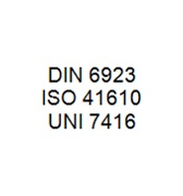 DIN 6923 / ISO 41610 / UNI 7416 - Nut with Washer