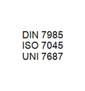 DIN 7985 / ISO 7045 / UNI 7687 - Crossed Recesse Pan Head Bolt