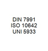 DIN 7991 / ISO 10642 / UNI 5933 - Hexagon Socket Countersunk Head Bolt
