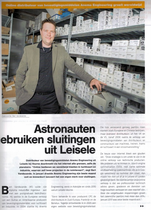 bart vandezande in voka news magazine