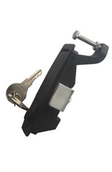 compression handle with key