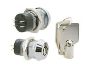 switchlock camlock locks round key double pole 7 pin die cast S206 series