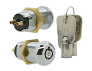 switchlock camlock locks round key single pole 10 pin solid brass ST series