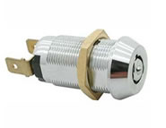 switchlock camlock locks round key single pole extra security 7 pin solid brass S28 series