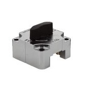 QCSQ-BK Sliding lock for square bar - black