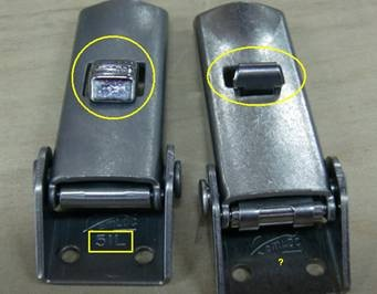 difference between secondary lock of 51L/V951L series