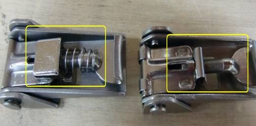 difference in secondary lock