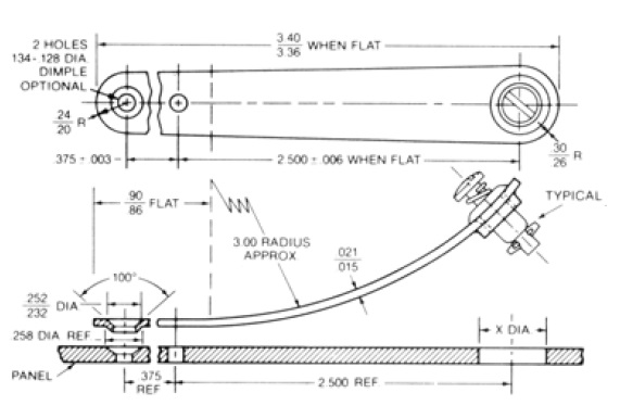 2600-ES installation drawing