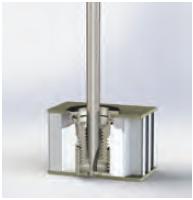 Montage insert composite - Ajuster la douille à l'aide d'un tourne vis