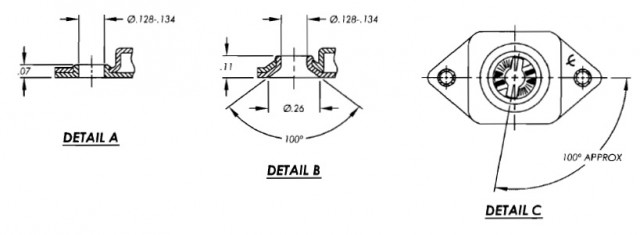 244-22 camloc receptacle details