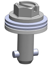 camloc quarter turn for soft panels with extra coned disc springs and larger washer