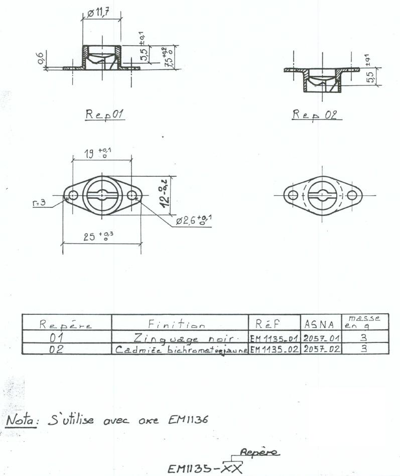 EM1135-01 - EM1135-02- ASNA2057-01 - ASNA2057-02
