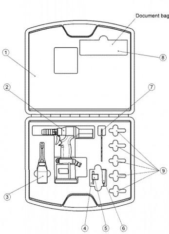 keensert power tool kit 3352PTC content