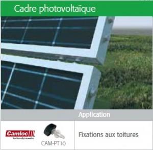 Fixations energies vertes cadres photovoltaïques